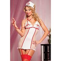 Костюм - Медсестра с подвязками