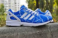 Кроссовки женские Adidas ZX Flux Electro Blue