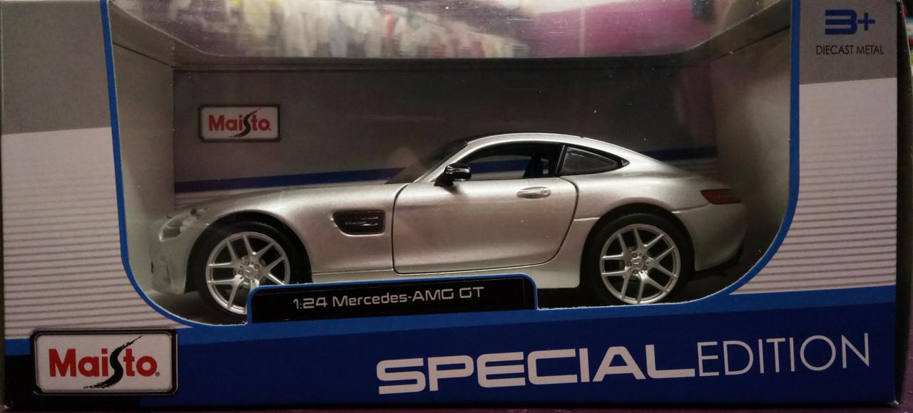 MAISTO Машинка іграшкова Mercedes-AMG GT, масштаб 1:24