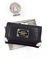 Женский кошелек Versace (V-56302) black