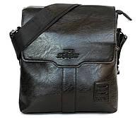 Модная сумка черного цвета для мужчин (855-Ч)