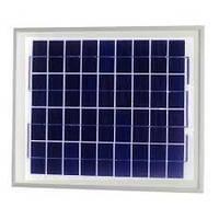 Поликристалическая солнечная батарея  Perlight 10Вт 12В