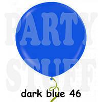 """Воздушный шар гигант Gemar G220 Пастель темно-синий 31"""" (80 см)"""