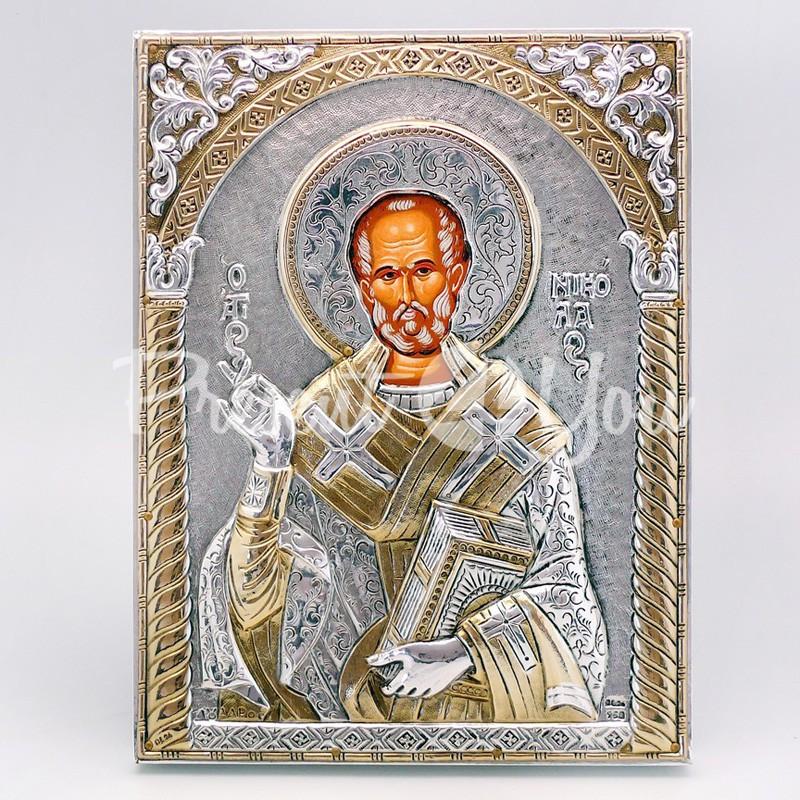 Икона «Святой Николай Чудотворец», 13х17 см.