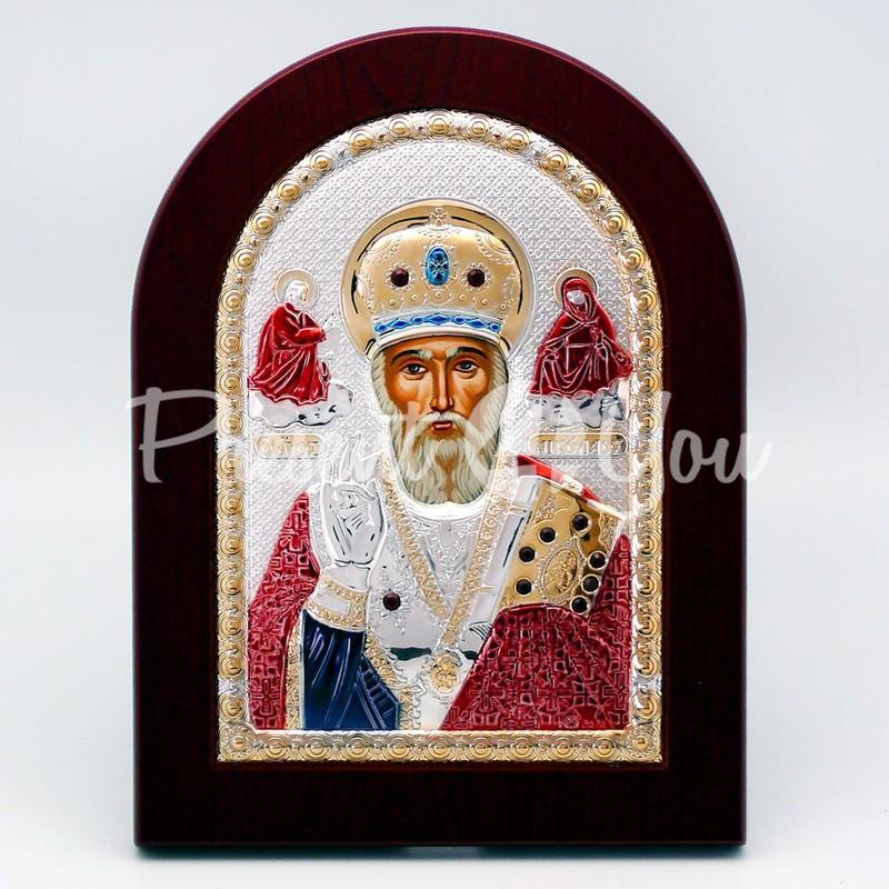 Икона «Святой Николай Чудотворец», 15,5х20,5 см.