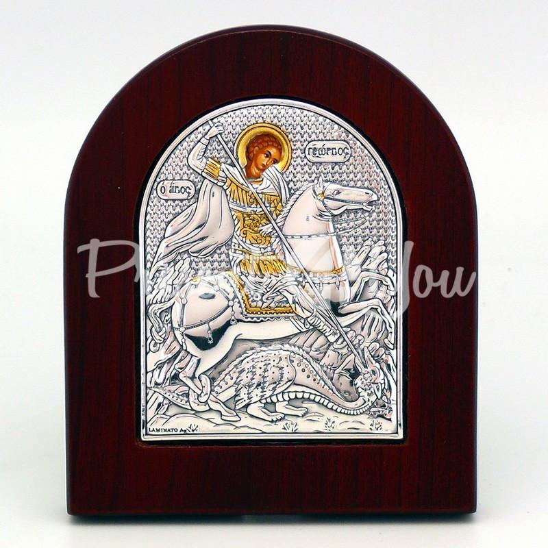 Икона «Святой Георгий Победоносец», 10х8,5 см.