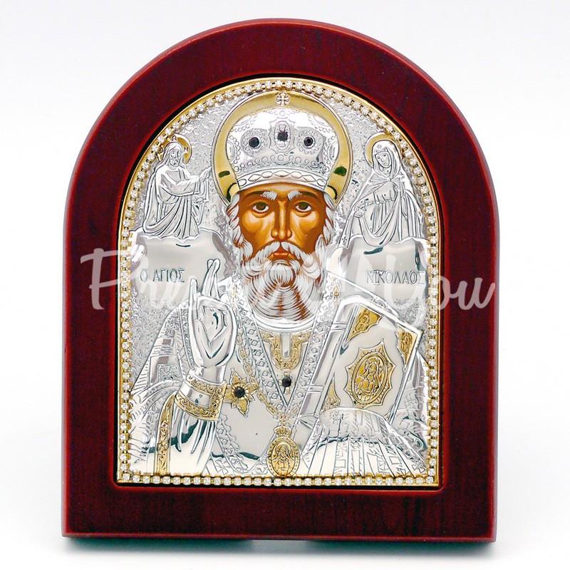 Икона «Святой Николай Чудотворец», 11х13 см.