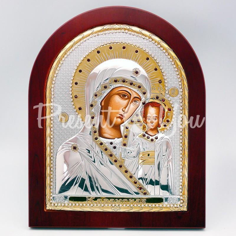 Казанская икона Божией Матери, 25х20 см.