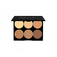 Sleek Corrector Cream Contour Kit Medium - Набор для контуринга лица, 12 г