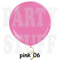 """Шар сюрприз Gemar G300 39"""" (100 см) розовый пастель"""