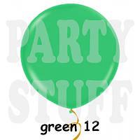 """Воздушный шар гигант Gemar G300 39"""" Зеленый пастель(100 см)"""