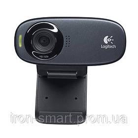 Web камера Logitech C310 (960-001065) Black, 5 Mpx, 1280x720, USB 2.0, встроенный микрофон