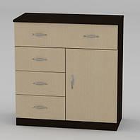 Удобная мебель от мебельной фабрики Компанит. Комод 1-3-1