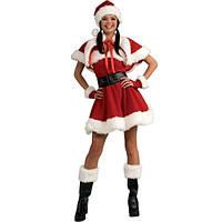 Карнавальный костюм - Мисс Санта