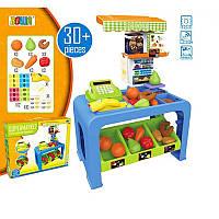 Игровой набор  Супермаркет с прилавком, кассой и продуктами
