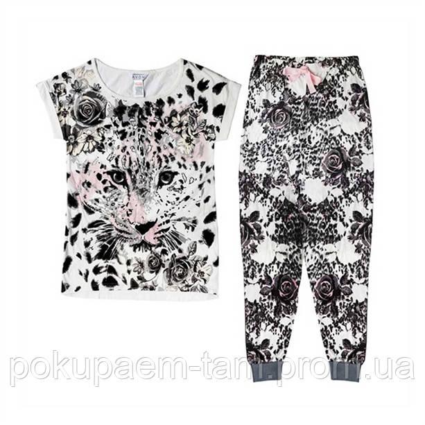 Женская пижама ЛЕОПАРД - до 60-го размера  продажа 3101efe428946