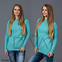 Модный свитер женский узорный W11-504-7 женские свитера турция интернет магазин