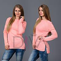 Свитер женский с разрезами Арт. W11-506-10 купить красивый свитер женский