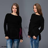 Турецкий свитер женский с разрезами Арт. W11-506-5