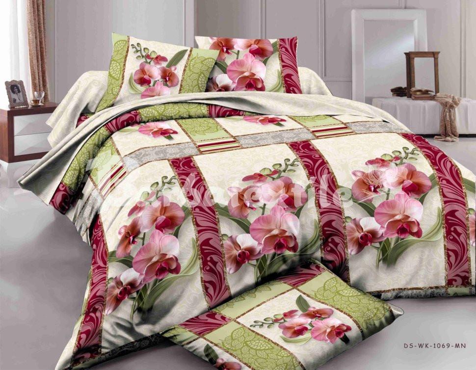 Двуспальное постельное белье Орхидея