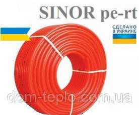 Труба для теплого пола из сшитого полиэтилена Sinor 16х2,0