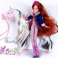 Блум - Кукла Фея Винкс с лошадью музыкальной (Winx)