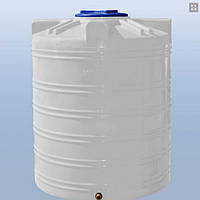 Емкость пластиковая для воды 1000 литров, вертикальный, 1 слой,