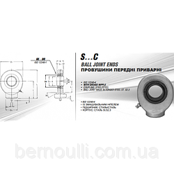 Провушина S10C (під палець ф10)