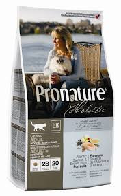 Pronature Holistic Cat Adult Atlantic Salmon & Brown Rice 340 г - сухой холистик корм для котов (лосось/рис)