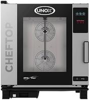 Пароконвектомат UNOX XЕVС-0711-Е1R, линия ONE