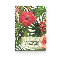 """Обложка для паспорта ZIZ """"Тропики"""" 10100"""