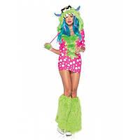Карнавальный костюм монстра с гетрами