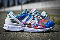 Кроссовки женские Adidas ZX Flux Abstract Style