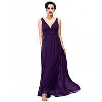 Вечернее платье с завышенной талией