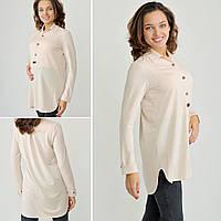 Блуза-платье Моника Шампань