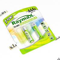 Raymax 1100mah AAA NiMH аккумуляторы (микропальчик), фото 1