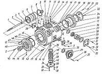 Перечень запасных частей к турбокомпрессору К-250