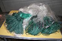 Сеть рыболовная 3 метра трехстенка груз свинец ячея 55.60.65.70.80.35.40
