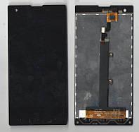 Дисплей Fly IQ4511 + сенсор (Touchscreen) Octa Tornado One Black