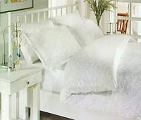 Комплект постельного белья Altinbasak Elis Gri Сатин Люкс 200*220