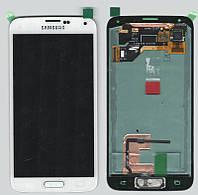 Дисплей + сенсор Samsung G900H Galaxy S5, белый , с тачскрином (White )