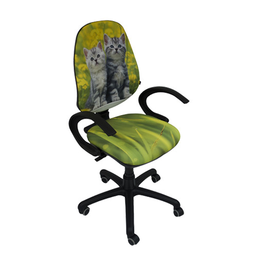 Кресло Поло 50/АМФ-5 Дизайн №8 Котята