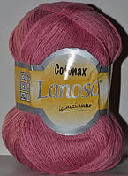 Пряжа для ручного и машинного вязания Lanoso Cotonax, цвет Сухая роза