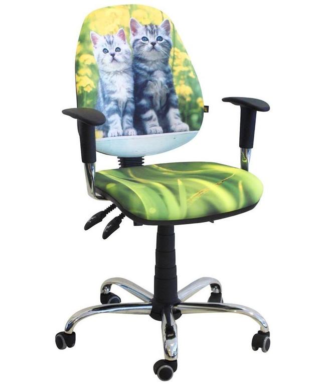 Кресло Бридж Хром Дизайн 8- Котята.