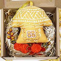 Подарочный набор Золотой Домик с веночком