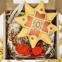 Подарочный набор Золотая Звезда с веночком