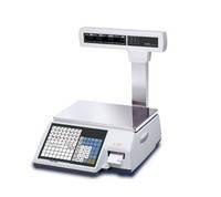 Весы электронные торговые (фасовочные) с печатью этикеток CAS CL 5000J