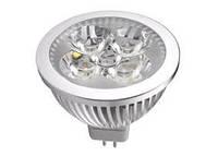 Лампа LED 220В EL-GU5.3 4L 220V 360LM
