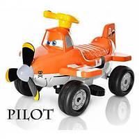 Электромобиль каталка Пилот