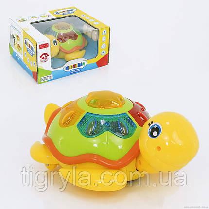Морская черепашка музыкальная, несет яйца, развивающая игрушка, фото 2